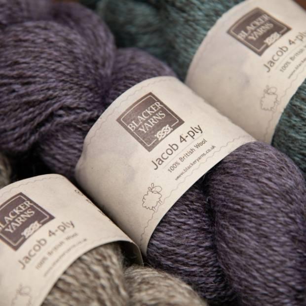 Jacob Pale Purple 4ply - Blacker Yarns