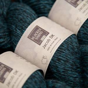 Jacob dk granite dark teal - Blacker Yarns