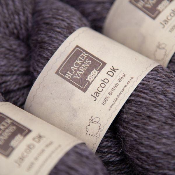 Jacob dk marlstone purple - Blacker Yarns