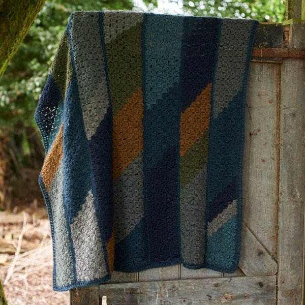Lillerys Cove Blanket On Door - Blacker Yarns