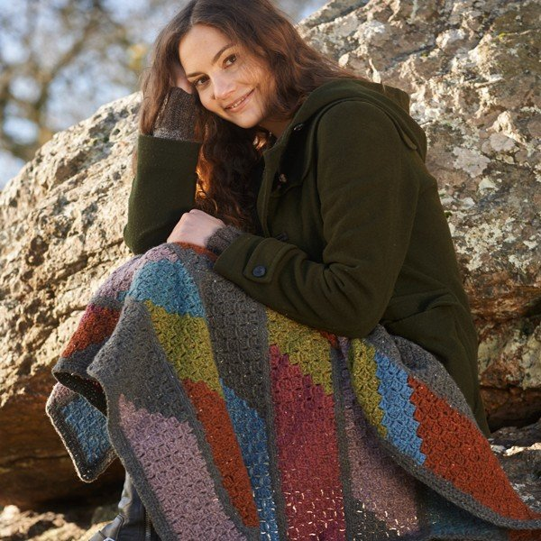 Lillerys Cove Blanket - Blacker Yarns
