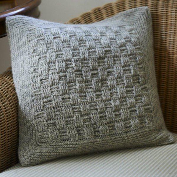 Long Rock Cushion Cover Pattern - Blacker Yarns