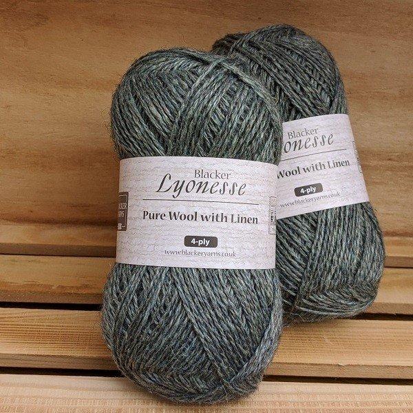 Lyonesse 4PLY Sapphire - Blacker Yarns