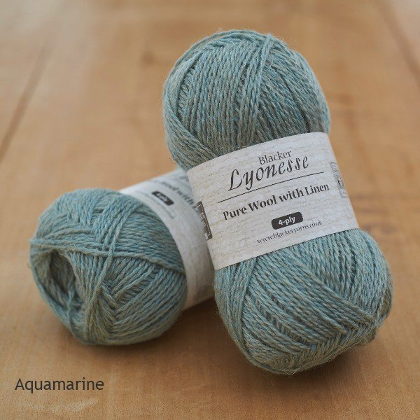 Lyonesse Aquamarine 4Ply - Blacker Yarns