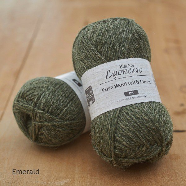 Lyonesse Emerald Deep Green DK - Blacker Yarns