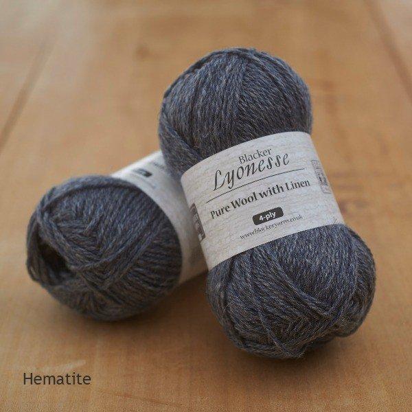 Lyonesse Hematite 4 Ply 1 - Blacker Yarns