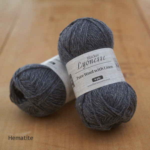 Lyonesse Hematite 4 Ply - Blacker Yarns