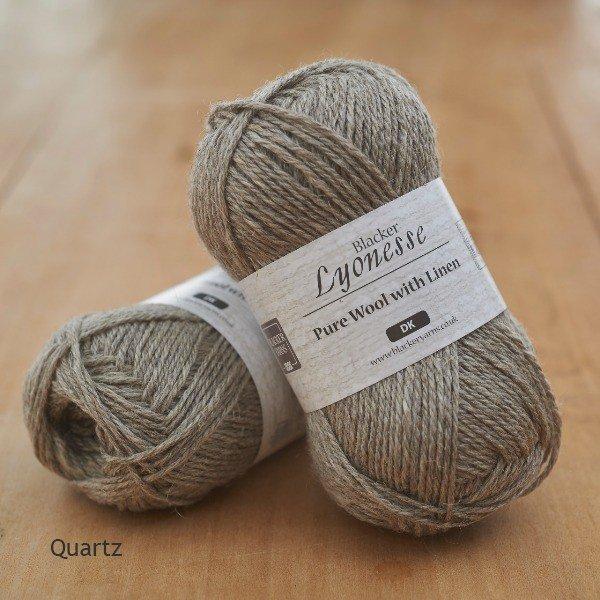 Lyonesse Quartz Grey DK - Blacker Yarns