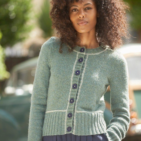 Macaulay Cardigan Pattern by Blacker Yarns