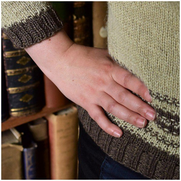 Marginalia Jumper by Karie Westermann 2 - Blacker Yarns