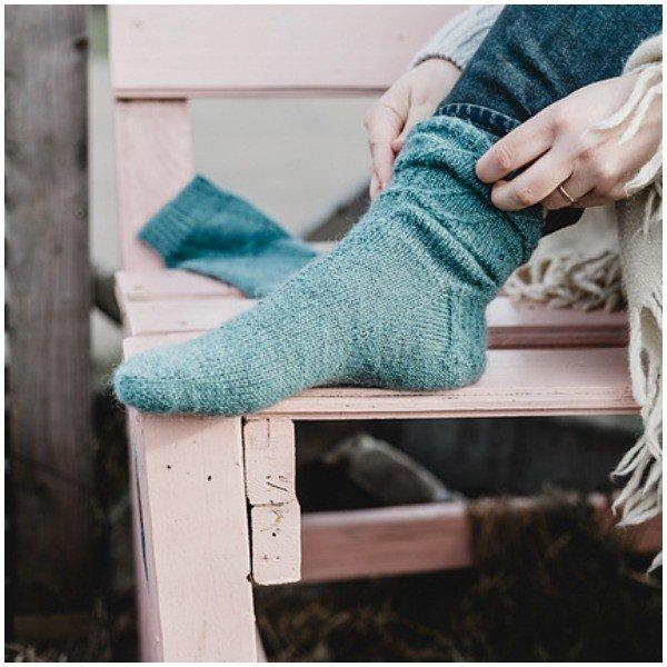 Meltemi Socks by S2 - Blacker Yarns