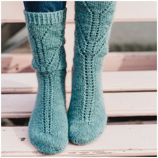 Meltemi Socks by Sustainablist - Blacker Yarns