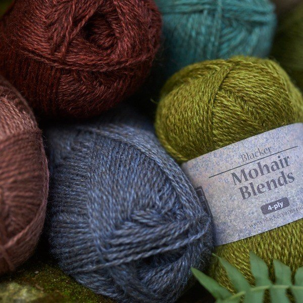 Mohair Blend Knitting Yarn