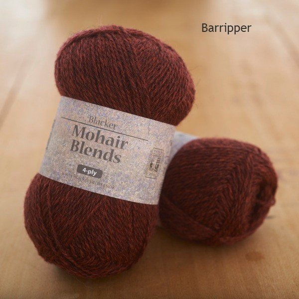 Mohair Blends 4-ply Barripper crimson