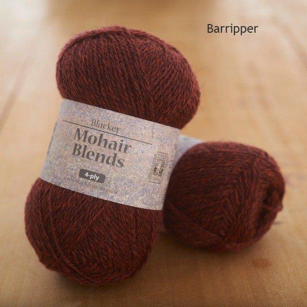Mohair Blends 4-ply Barripper crimson