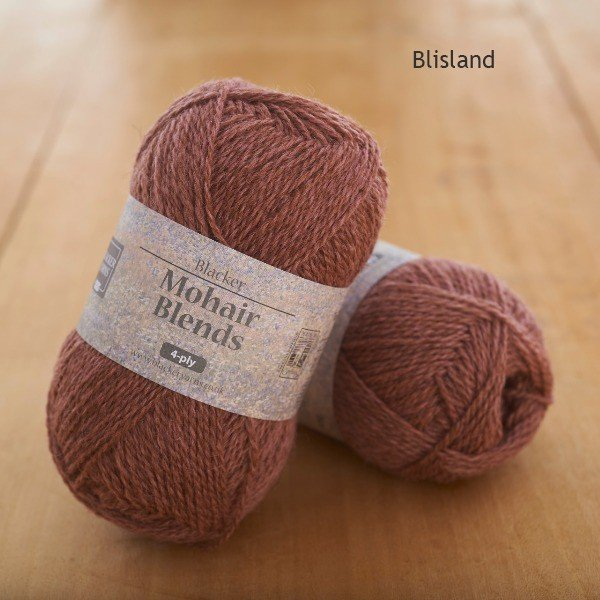 Mohair Blends 4-ply Blisland pink