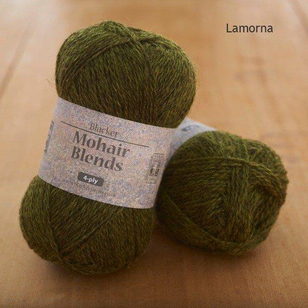 Mohair Blends 4-ply Lamorna dark olive