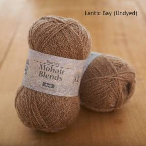 Mohair Blends 4-ply Lantic Bay natural fawn undyed