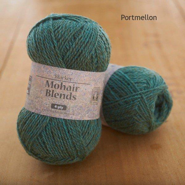 Mohair Blends 4-ply Portmellon turquoise