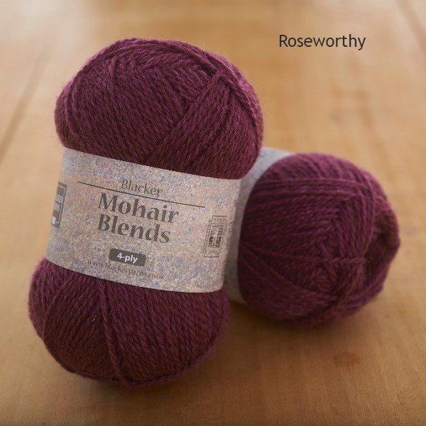 Mohair Blends 4-ply Roseworthy purple