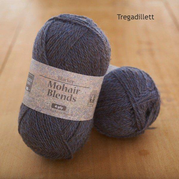 Mohair Blends 4-ply Tregadillett slate