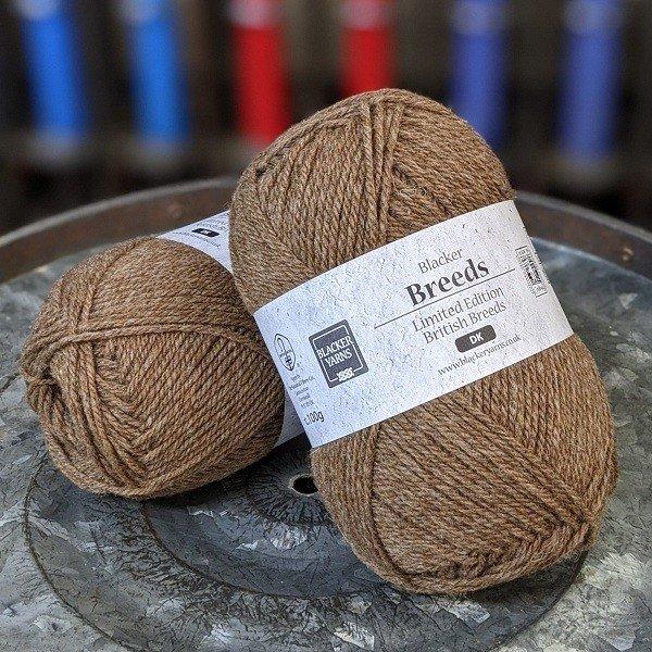 Moorit Undyed DK Pure Shetland - Blacker Yarns