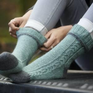 Morwenstowe Socks Blacker Yarns Free Pattern
