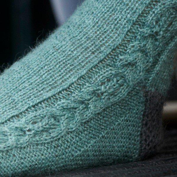 Morwenstowe Socks Gusset - Blacker Yarns
