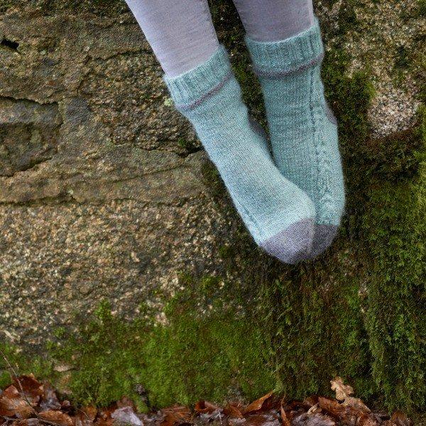 Morwenstowe Socks Pattern - Blacker Yarns