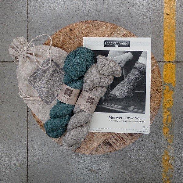 Morwenstowe Socks Project Kit1 - Blacker Yarns