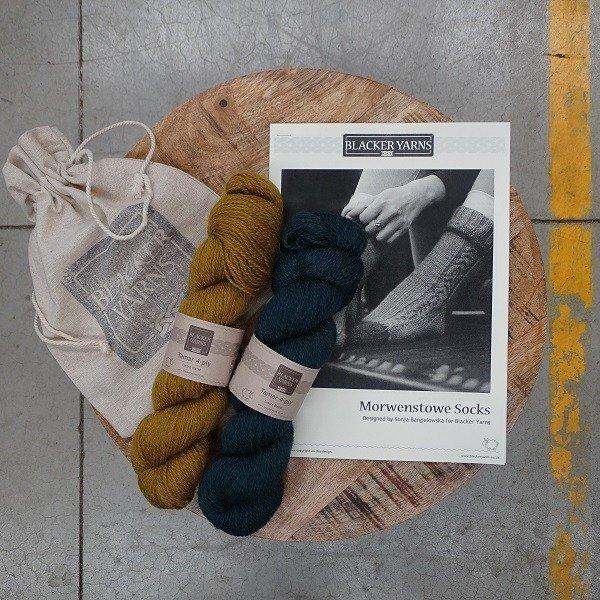 Morwenstowe Socks Project Kit2 - Blacker Yarns