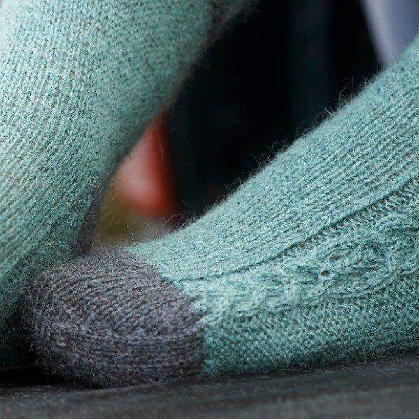 Morwenstowe Socks Toe - Blacker Yarns