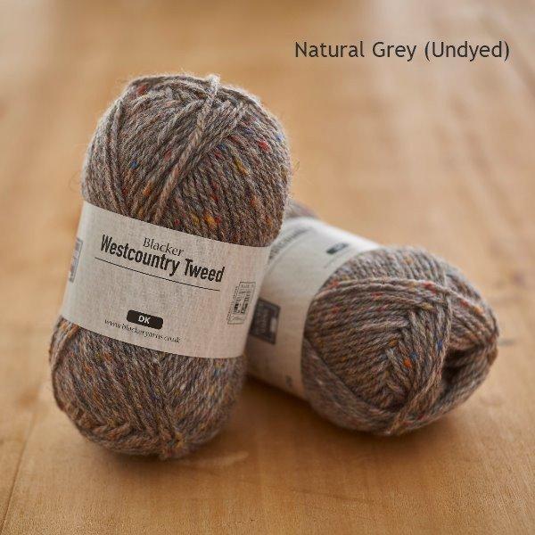 Natural Grey Westcountry - Blacker Yarns