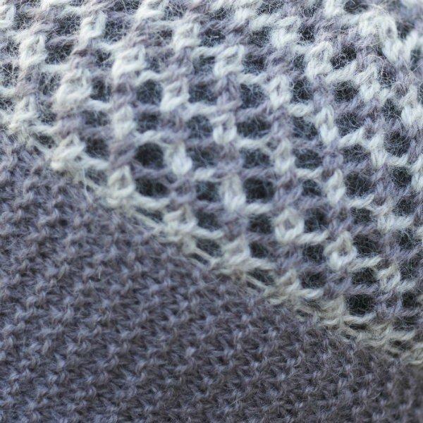 Piskey Hat Close Up - Blacker Yarns