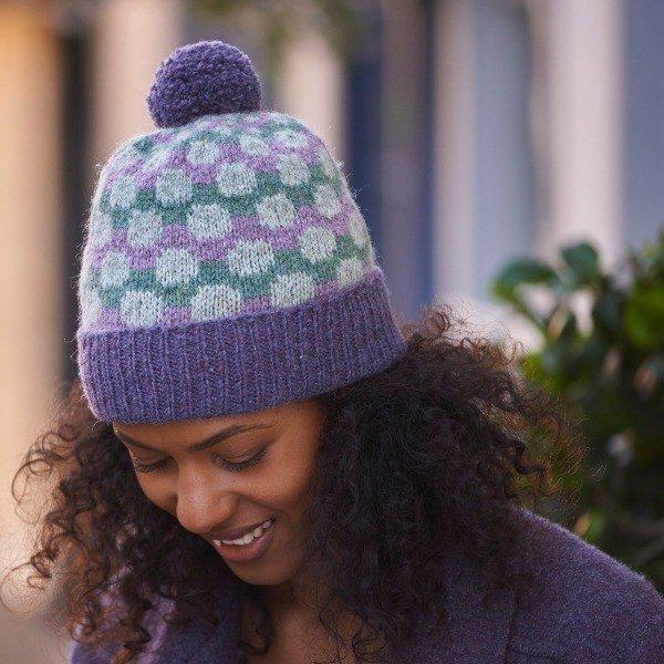 Pointillist Hat Light - Blacker Yarns