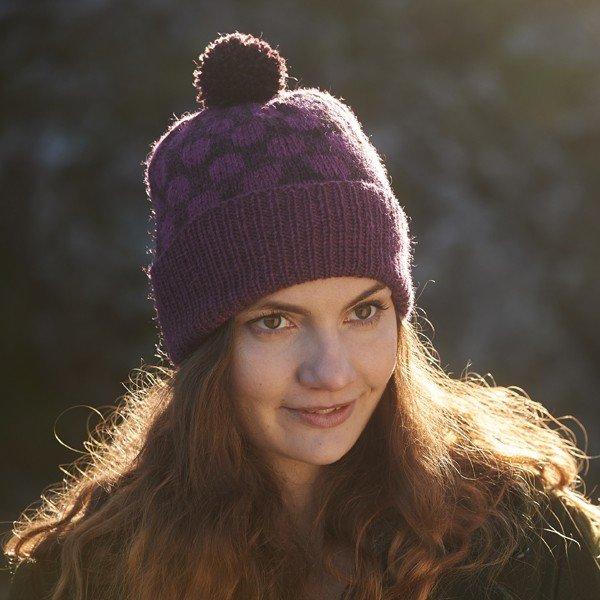 Pointillist Hat - Blacker Yarns