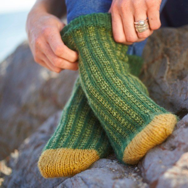 Polgooth Socks Blacker Yarns Free Pattern