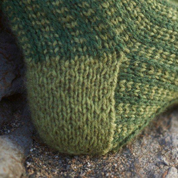 Polgooth Socks Closeup - Blacker Yarns