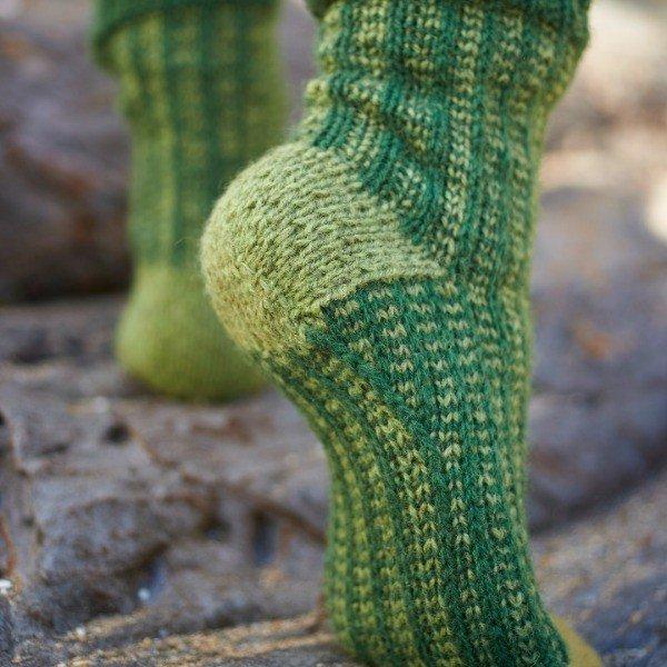 Polgooth Socks Heel - Blacker Yarns