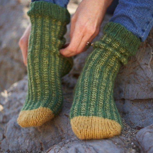 Polgooth Socks Pattern - Blacker Yarns