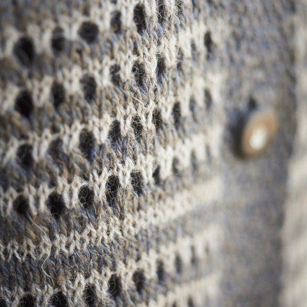 Polzeath Cardigan Lace Stitch Pattern - Blacker Yarns