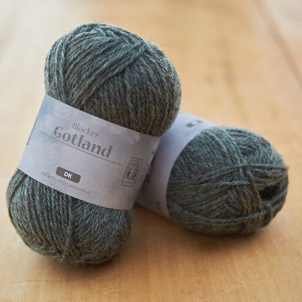 Pure Gotland DK Hoar Frost Pale Turquoise knitting yarn