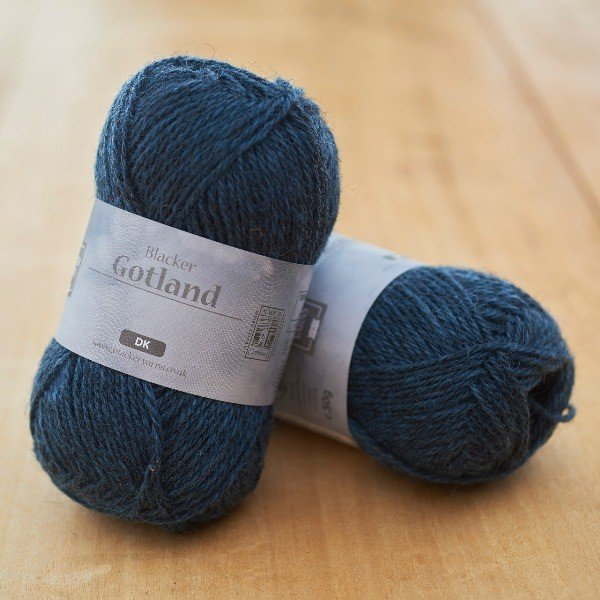 Pure Gotland DK Shower Teal knitting yarn
