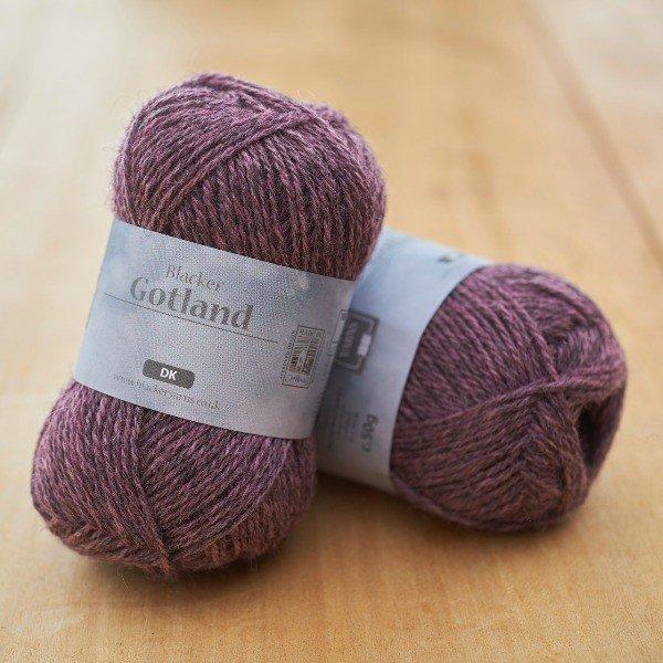 Pure Gotland Dawn DK pale pink knitting yarn