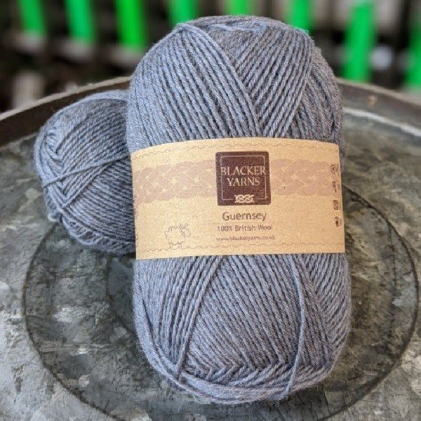 Pure Romney Guernsey Pale Blue yarn
