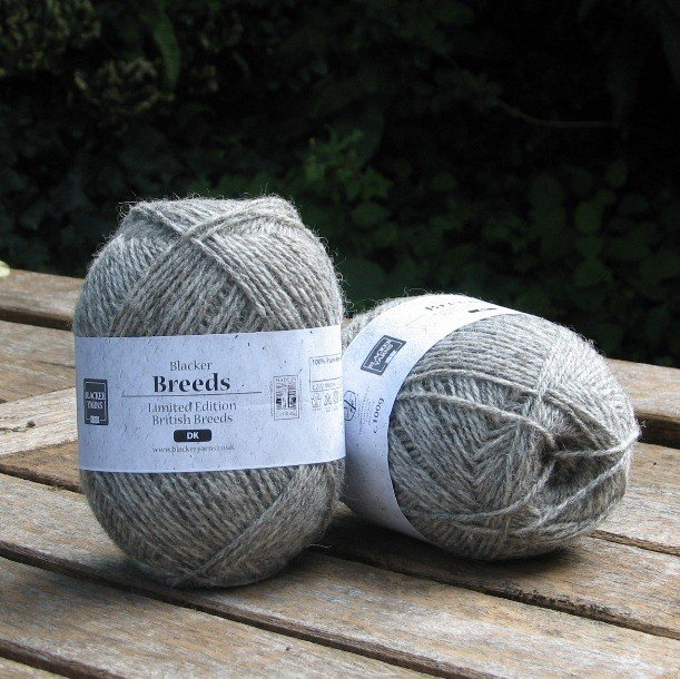 Pure Texel DK Grey Yarn - Blacker Yarns
