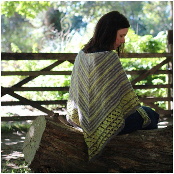 Quill Shawl by Helen Stewart - Blacker Yarns