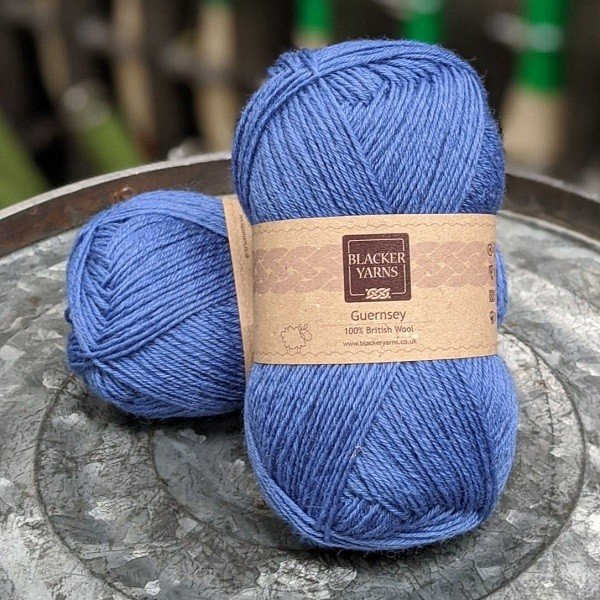 Romney Guernsey Blue - Blacker Yarns
