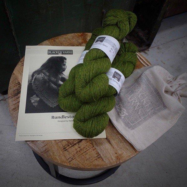 Rundlestone Crochet Shawl Project Kit2 - Blacker Yarns