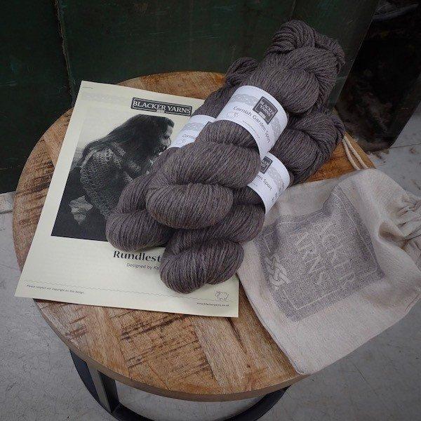 Rundlestone Crochet Shawl Project Kit4 1 - Blacker Yarns